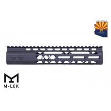 """10"""" AIR LITE M-LOK FREE FLOATING HANDGUARD WITH MONOLITHIC TOP RAIL"""