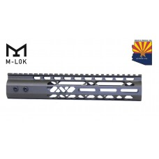 """10"""" AIR LITE M-LOK FREE FLOATING HANDGUARD WITH MONOLITHIC TOP RAIL (OD GREEN)"""