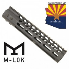 """10"""" ULTRA LIGHTWEIGHT THIN M-LOK SYSTEM FREE FLOATING HANDGUARD WITH MONOLITHIC TOP RAIL"""
