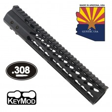 "12"" ULTRA LIGHTWEIGHT THIN KEY MOD FREE FLOATING HANDGUARD WITH MONOLITHIC TOP RAIL (.308 CAL)"