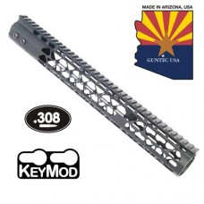"15"" AIR LITE KEYMOD FREE FLOATING HANDGUARD WITH MONOLITHIC TOP RAIL (.308 CAL)"