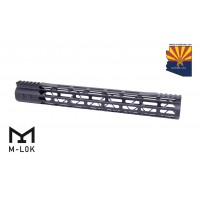 "15"" MOD LITE SKELETONIZED SERIES M-LOK FREE FLOATING HANDGUARD WITH MONOLITHIC TOP RAIL"