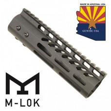 "7"" ULTRA LIGHTWEIGHT THIN M-LOK FREE FLOATING HANDGUARD WITH MONOLITHIC TOP RAIL"