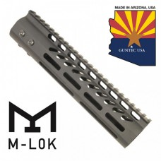 """9"""" ULTRA LIGHTWEIGHT THIN M-LOK SYSTEM FREE FLOATING HANDGUARD WITH MONOLITHIC TOP RAIL"""